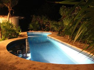 Tulum villa photo - Private pool - at night