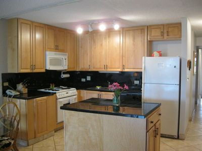 Beautiful freshly remodeled kitchen