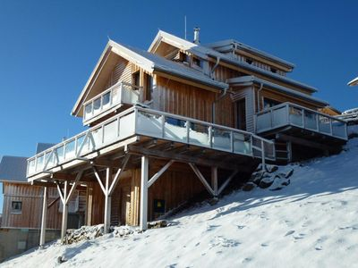 Wellness Luxury Chalet on the clouds of Lavanttal's for skiing and hiking