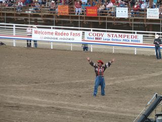 Cody cabin photo - Cody Night Rodeo, Rodeo every night of the week through Labor Day.