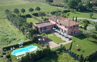 Cottage for 17 people, with swimming pool, in Monte Argentario