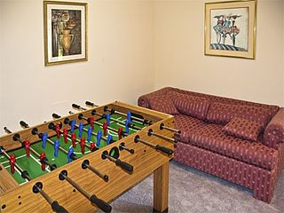Tannersville house photo - Foosball in family room