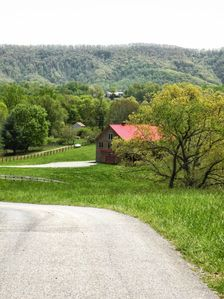 Circle T Guest Ranch, gorgeous green Southwest Virginia