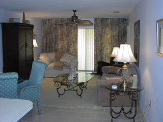 Cape Canaveral condo photo - living room, sleeper queen