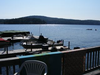View from #8's deck - Alton cottage vacation rental photo