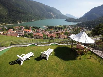 Villa on Lake Molveno