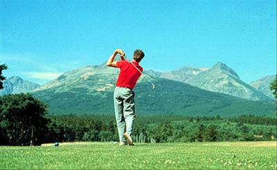 A great golf course with stunning views just a few minutes from the cabin.