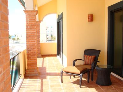 Puerto Morelos house rental - Second Floor Balcony