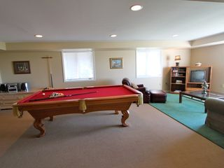 Boone estate photo - lower level Den & Game room
