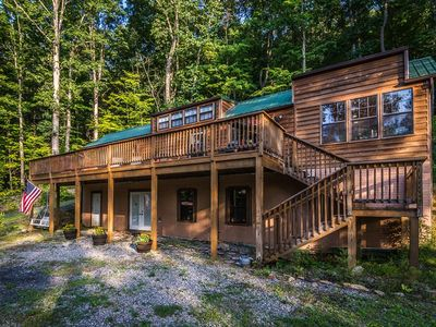 Rocky gap canyon to evitts summit rocky gap state park for Lake whitney cabins with hot tubs
