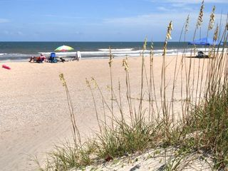 Beautiful Wide Summer Beach on Amelia
