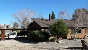 Lone Pine cabin rental - Our cabin in the high-desert shadow of Mt. Whitney, near Lone Pine, Calif.