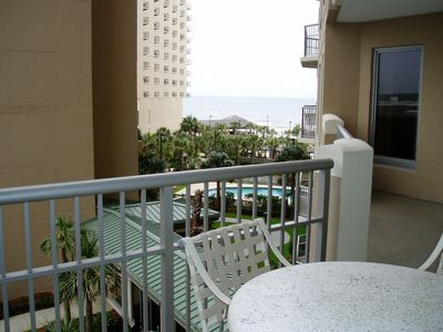 View the ocean - enjoy a refreshment & snack on the main balcony.