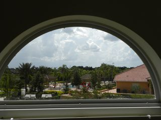 Bellavida Resort house photo - View of the Clubhouse Pool from Master Bedroom 1
