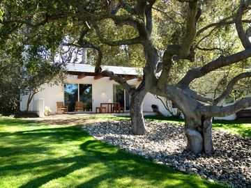 Los Olivos house rental - Patio and Lawn