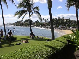 Poipu studio photo - This is your beach, just steps from the condo and the best snorkeling on island.