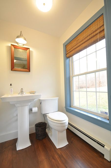 Have the convenience of a powder room on the first floor.