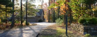 Swanton house photo - Our newly paved driveway and PA stone hand done landscape feature