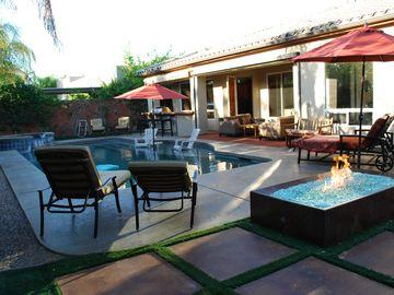 Rancho Mirage house rental - Spa and pool area perfect for relaxation or family fun.