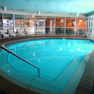 Indoor pool for Winter time and for rainy days.