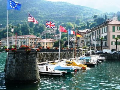 The harbour - Menaggio