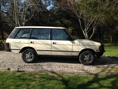 Surfside Nantucket house rental - Optional Vehicle Rental: '95 Range Rover LWB, seats 5