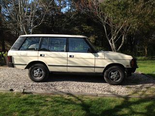 Optional Vehicle Rental: '95 Range Rover LWB, seats 5