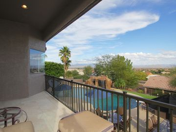 Old Town Scottsdale house rental - Amazing backyard views of pool and Fountain Hills