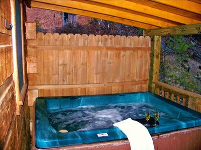 your own private hot tub