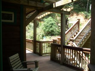 Ellijay cabin photo - The Front Entry