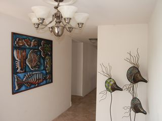 Rockport house photo - Tropical decor at entry way to set you in the mood!