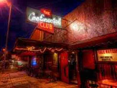 Austin house rental - The Continental Club - the most popular music venue in Austin is a short walk.
