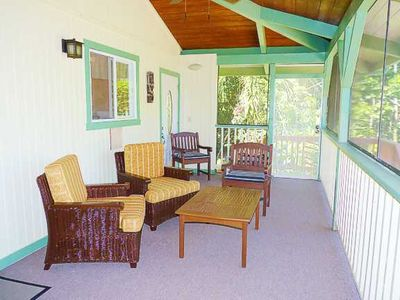 Your Group Can Spread Out On The Large Lanai