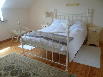 Large master bedroom is ensuite and sleeps up to 4