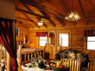 Branson cabin photo - Open floor plan perfect for honeymooners or couples.