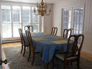Gilford house photo - Formal dining room with seating for six.