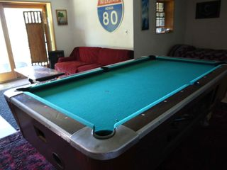 Ascutney house photo - Pool Table