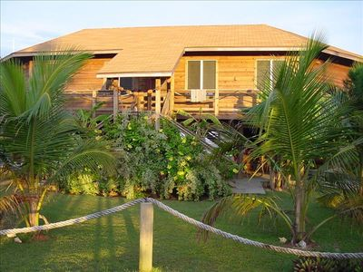 "This beautiful ""island style"" home has one of the best locations on the island"