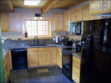 Spacious Fully Equipped Kitchen with Room for Multiple Chefs