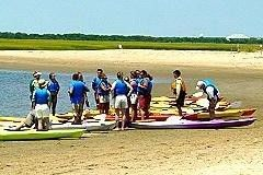 Carolina Beach townhome rental - Kayaking is one of many things to do on the island