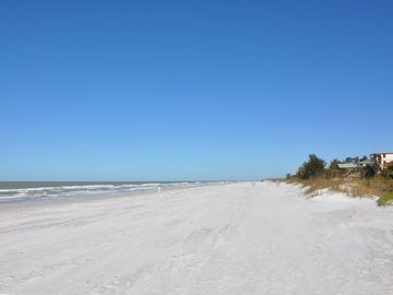 Miles of white sandy beaches - Clearwater to north, St. Pete to the south.