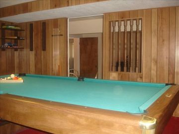 Pool table and Ping Pong Combo