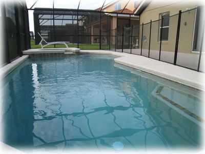 Heated Pool with Spa