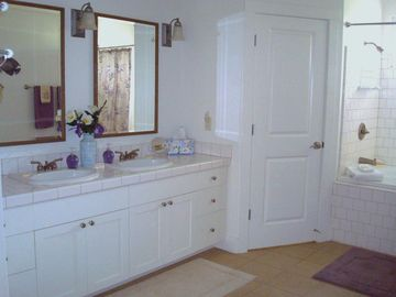 Huge Master Bath with Walk-in Closet