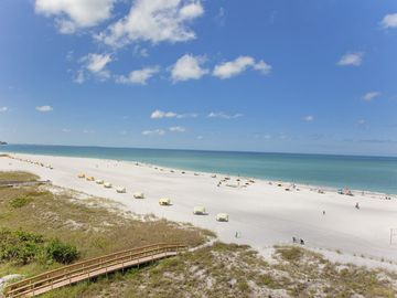 Treasure Island condo rental - Beautiful Treasure Island Beach and The Gulf of Mexico.