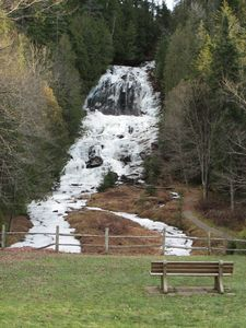 Pittsburg cabin rental - Nearby Bever Brook Falls. You should see it flow in the spring!