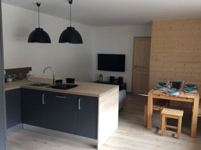 Apartment 60 m2 classified 4 stars with terrace 6 people ski slopes