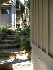 Carnelian Bay cabin photo - Path from Lookout to Roadhouse