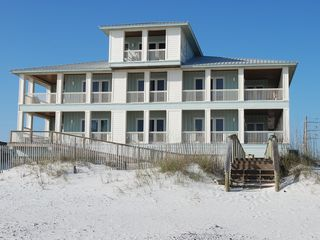 Gulf Shores house photo - View of Halekai III from the Beach
