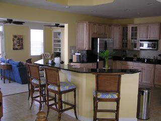 Sunset Island Ocean City house photo - Kitchen/Family Room
